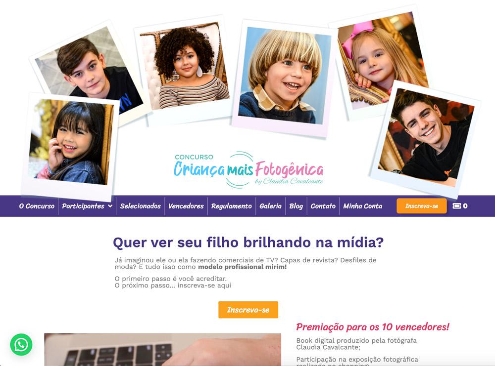 Crianca-mais-fotogenica-desenvolvido-pela-Oxi-especialista-em-Wordpress
