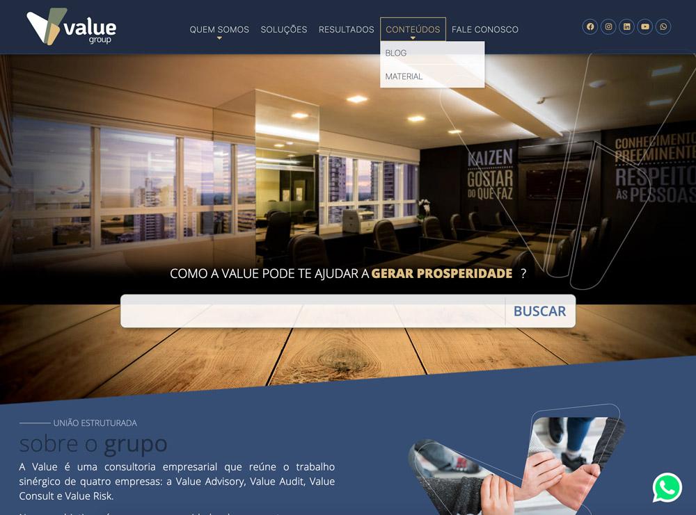 Grupo-Value-Website-desenvolvido-pela-Oxi-especialista-em-Wordpress