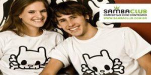 Quer ganhar uma super camiseta da SambaClub?