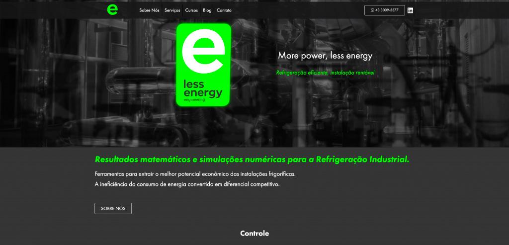 less-energy-oxi-criação-de-websites-em-londrina