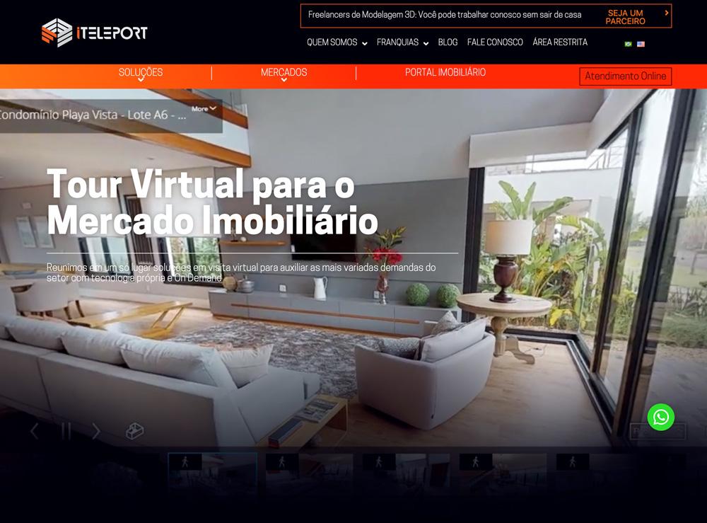 Layout Website iteleport