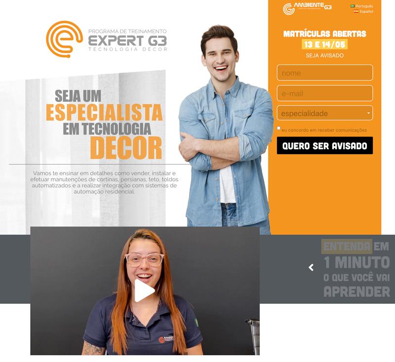 Landing Page ExpertG3